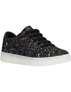 [Patrocinado]BiBi Zapatos de Cordones de Material Sintético Para Niña