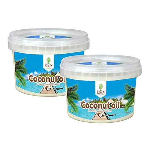 Kokosöl im Eimer 2x500 ml