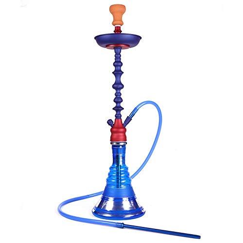 ART JKWL Wasserpfeifen Set Narghile - Set Wasserpfeifen Wasserpfeifen Set - Acryl Chicha - Keramikschale - Schlauch - Carbon Clamp, A -