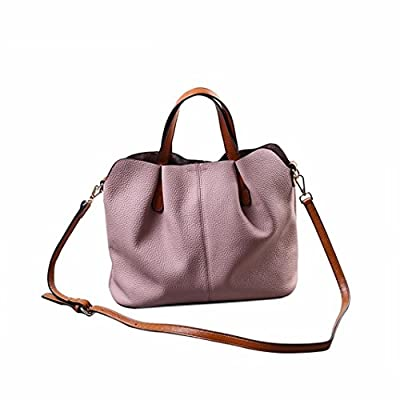 Ularma Mode pli en cuir sac à main épaule sac Mobile Messager sac