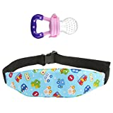 #10: Segolike Safety Baby Kids Stroller Nap Aid Head Support Holder Belt/Band+ Pacifier M