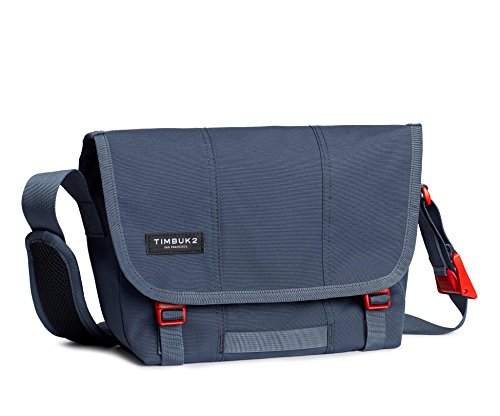 TIMBUK2 Flight Classic Messenger Bag, Granite/Flame, xs (Messenger Timbuk2 Laptop)