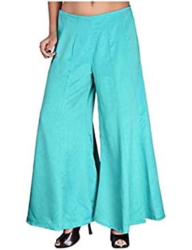 Indian Handicrfats Export Sizzlacious Regular Fit Women's Blue Trousers