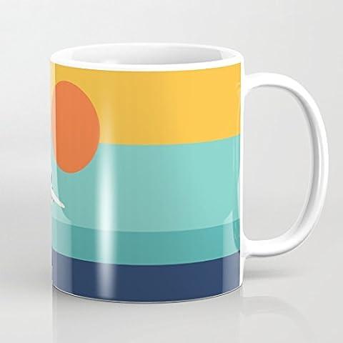 quadngaagd Fly Away 11-Ounce Mug Tasse à Café Tasse à thé Blanc