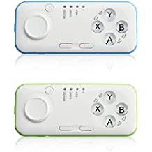Rishil World Wireless Bluetooth Gaming Controller Gamepad Joystick For Android IOS TV Remote