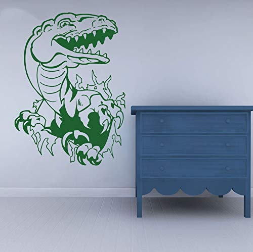 GUDOJK Wandaufkleber Vinyl Wandtattoo Dinosaurier Primitive Tiere Dekorieren Papier DIY Boy Ro Wandaufkleber für Kinder ro Solid Interior