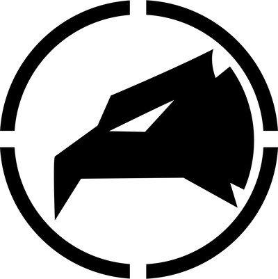 Logo militare aquila adesivo prespaziato senza fondo in vinile colore nero lucido, 10 centimetri. personalizza auto, moto, caschi, camion, furgoni, fuoristrada e 4x4, car wrapping e tuning, barche, valige, vetri, mobili e qualsiasi altra superficie liscia.