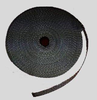 Dichtband selbstklebend schwarz verschiedene Größen für Scheibendichtungen von Kaminöfen