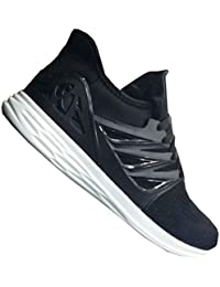 MOB Men's Wear Black And White Sports & Running Shoes In Various Sizes