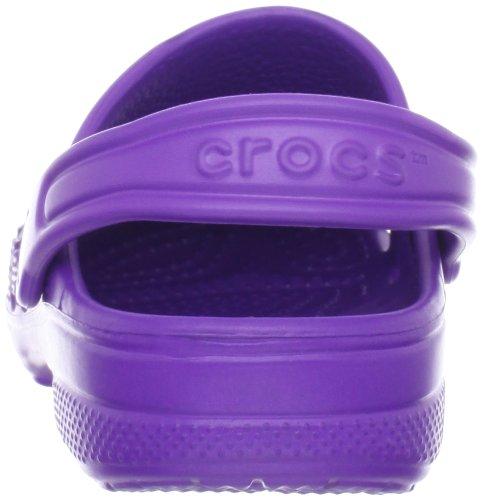 crocs Baya Kids, Zoccoli e Sabot Unisex Bambini Viola (Neon Purple)