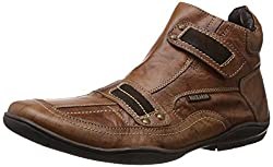 Buckaroo Mens Brown Leather Boots (5-51216T) - 9 UK