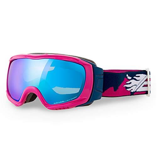 Peggy Gu Kinder-Doppelschicht Anti-Fog Ski Goggles Klettern Spiegel Outdoor Goggles Goggles Schutzbrillen (Farbe : C)