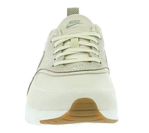 Nike Wmns Air Max Thea Prm, Sneakers Basses Femme Beige (Oatmeal/oatmeal/sail/khaki/gum Med Brown)