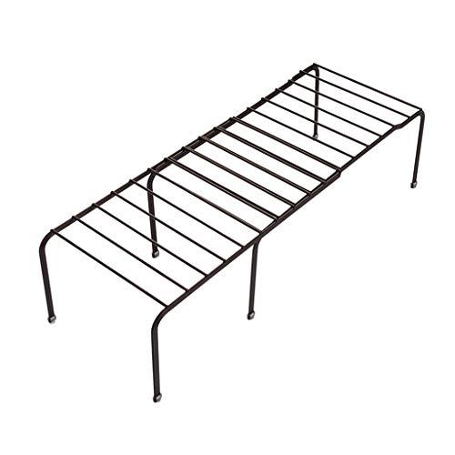 Losping Expandable Kitchen Counter Cabinet Arbeitsplatte Shelf Organizer Rack Aufbewahrungsschüssel Einstellbare Speisekammer -