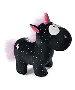 Nici 41420 Theodor and Friends Kuscheltier Einhorn Carbon Flash, 32 cm