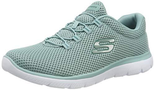 Skechers summits, scarpe da ginnastica donna, blu sage, 40 eu
