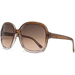 American Freshman Glamour Square Sonnenbrille in braun zu Gradient Pink AFS010 One Size Brown Gradient