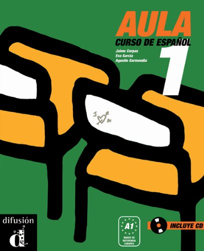 Aula 1 Libro del alumno + CD (Ele - Texto Español) por Jaime Corpas