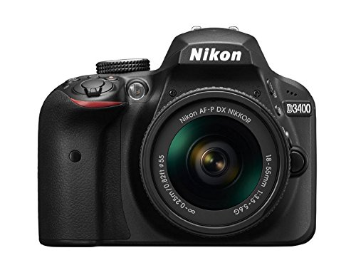 Nikon D3400 Digital SLR Camera - Black