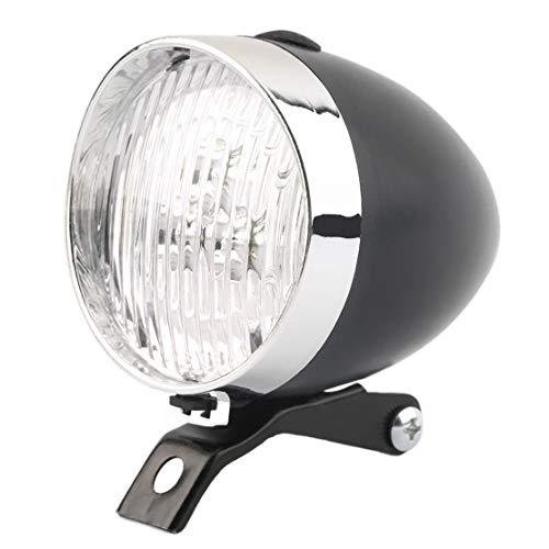 Sanzhileg 3 LED Vintage Ultra Brillante Linterna lámpara de la luz de la Bicicleta Faro Bicicleta luz Delantera Segura Noche Ciclismo Accesorio de la Bici