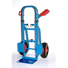 "PRO-BAU-TEC /""Profi/"" Sackkarre Stapelkarre Transportkarre 200kg Stahl blau *NEU*"