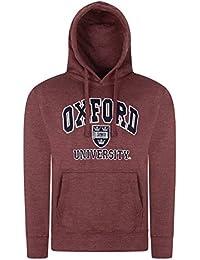 De gran calidad Oxford University producto oficial de sudadera con capucha bordado para hombre de matrícula de diseño West Ham United F.C - Dobby con color granate