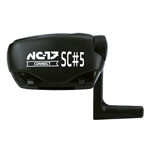 NC-17 Connect SC 5 Sensor für Geschwindigkeit und Trittfrequenz, für iPhone, Android, IPM-Technologie, Fahrradcomputer mit einfacher Montage