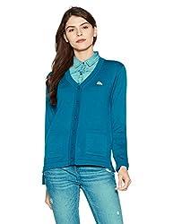 Monte Carlo Womens Wool Cardigan (1170714VN-2352-36_Blue)
