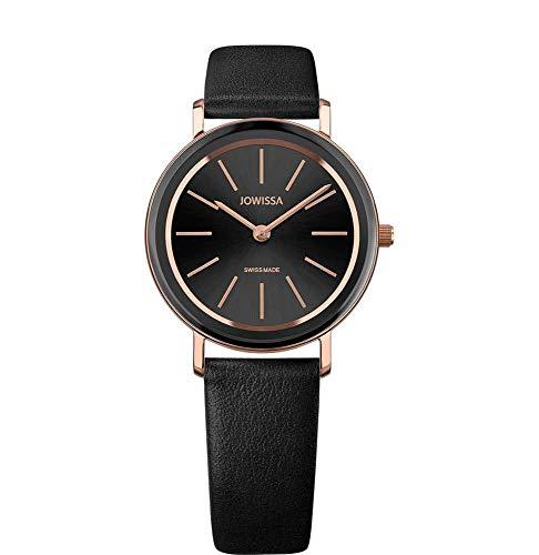 Jowissa Alto Swiss J4.387.M - Reloj de Pulsera para Mujer, Color Negro y Rosa