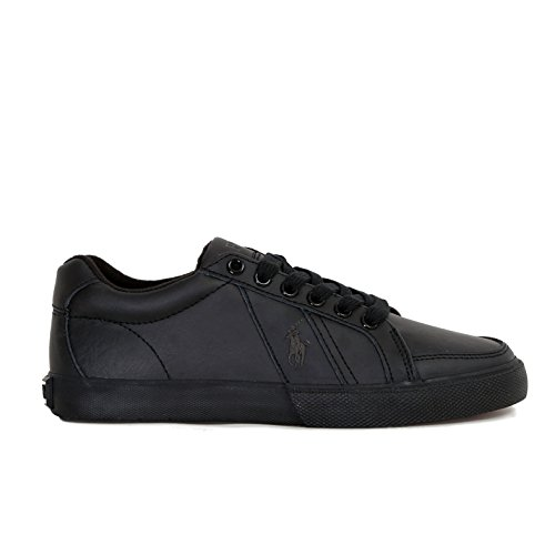 Polo Ralph Lauren Hugh Homme Baskets Mode Noir size 40