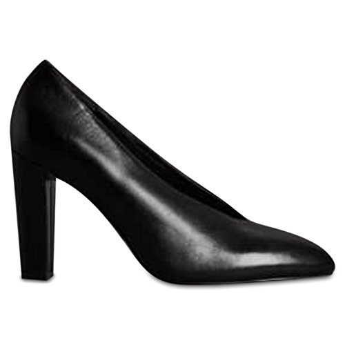 Marks & Spencer AUTOGRAPH T024092 Leather Block Heel High Cut Court Shoes...