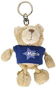 NICI n15886-Llavero Oso con Camiseta Mario, Azul