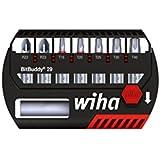 Wiha SB 7945-905 Bitbuddy Coffret de 7 Embouts Maxxtor PZ/Torx® 29 mm avec Porte-embout