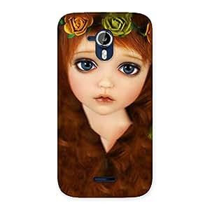Cute Tini Doll Multicolor Back Case Cover for Micromax Canvas Magnus A117
