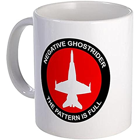 Taza de la negativa de la única CafePress pidiendo desfile aéreo tazas - S Patte de la taza, cerámica, blanco, small