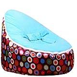 YSYDE Bébé Bean Bag Snuggle Bed Bouncer avec Harnais de sécurité pour Enfants Enfants Bébés Nouveau-né Unisexe S'assurant qu'ils Peuvent Se Reposer en Toute sécurité Fort Support Longue durée de Vie