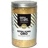 Glasa Real para Repostería - Gold Royal Icing - Preparado para Decorar Galletas y Cupcakes - 150 G (Oro)