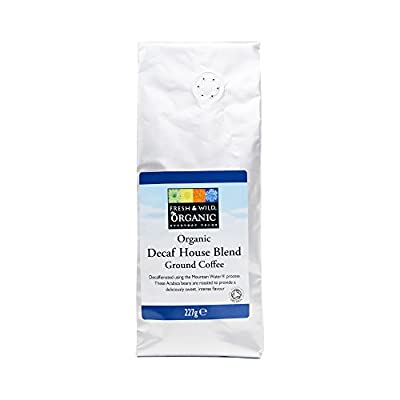 Fresh & Wild Organic Decaf House Blend Ground Coffee, 227 g by Whole Foods Market