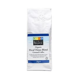 Fresh & Wild Organic Decaf House Blend Ground Coffee, 227 g