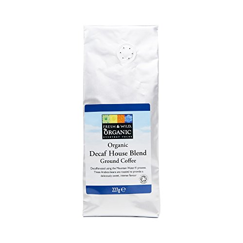 Fresh & Wild Organic Decaf House Blend Ground Coffee, 227 g 41TiY3t7xNL