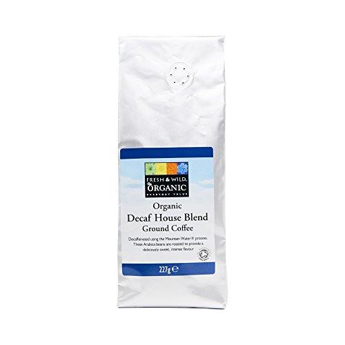 Fresh & Wild Organic Decaf House Blend Ground Coffee, 227 g 41TiY3t7xNL