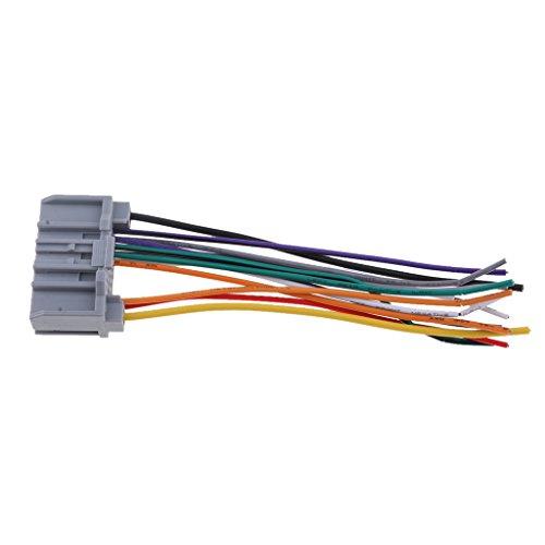 MagiDeal 1 Stück Kabelbaum Auto-Stereo-Verkabelung Auto-Stereo-Installation Kabelsatz CD Player Draht - Cd-player Draht
