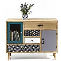 Kare 80997Visible Capri–Cómoda,, 34x 90x 71cm - Muebles de Dormitorio precios