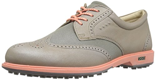 ECCO Womens Classic Golf Hybrid, Scarpe Donna, Grigio (50420NAVAJO Brown/Warm Grey), 39 EU