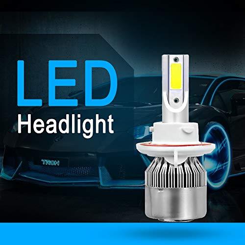 Nighteye H4/LED de voiture ampoules de phare 9000lm Blanc froid LED Cree ampoules de phare de conduite automobile H1/H4/H7/H11/H13/LED de voiture ampoules de phare kit de conversion