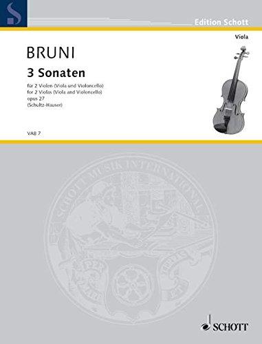 Sonaten(3) Opus 27 2vla/Vcl.