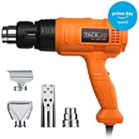 【 Ideal Gift for Prime Day 】 Heat Gun, Tacklife HGP70AC Professional Hot Air Gun with 3 Temperature Modes 240V 50Hz 1800W for Stripping Paint, Soldering Pipes, Shrinking PVC