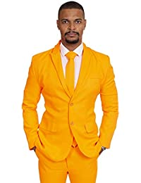 ORANGE SUIT Brightly Coloured Suits Prom Suit Wacky Suit Stag Suit Crazy Suits