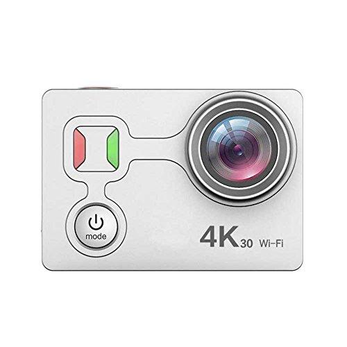 Galleria fotografica 4K sport di movimento telecamera WiFi waterproof Action Camera 5,1cm LCD screen 170ultra grandangolare videocamera subacquea Cam, White