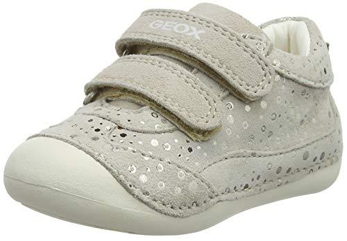 Geox Baby Mädchen B TUTIM A Sneaker, Beige (Beige C5000), 23 EU -